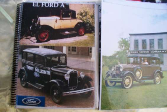"** manuales tecnicos ford ""a"" *1928-1931 * edito ford motor co *"