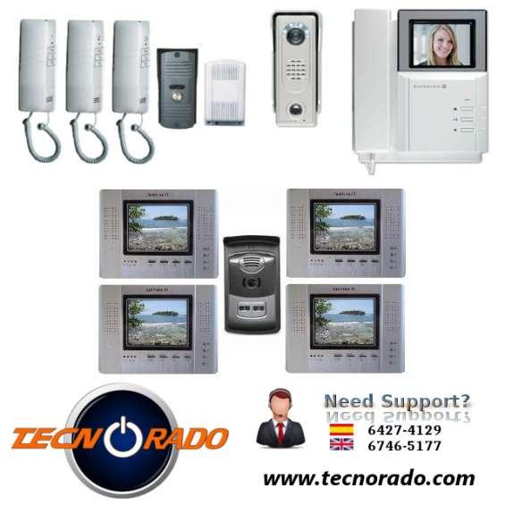 Sistemas de seguridad, telefonos, intercom de puertas, cameras de cctv en panama