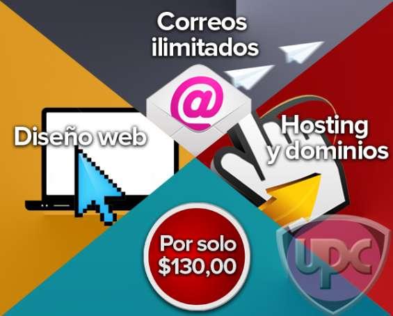 Paginas web desde $130,00 en panamá