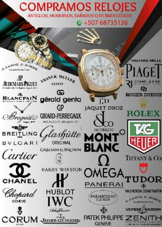 Empeñamos y compramos relojes y joyas