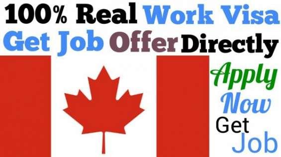 Se necesitan trabajadores de construcción y hotel de ingeniería civil urgente en canadá